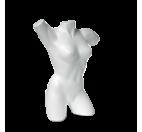 Styrofoam Female Motion Mannequin Torso