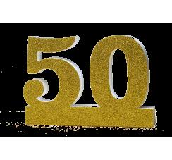 Numero 50 per Nozze d'Oro