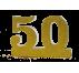 Número 50 para boda de oro