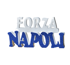 Forza Napoli writing