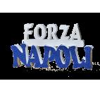 Scritta Forza Napoli