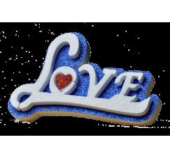 Scritta Love in corsivo