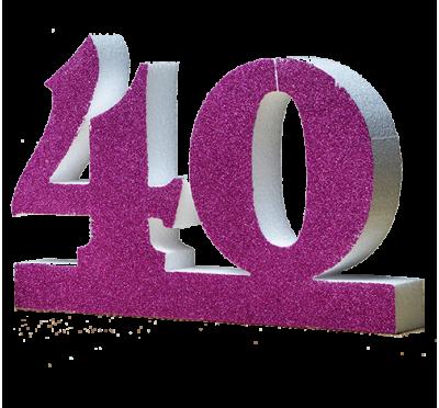 Numero 40 per quarantesimo a prezzi di fabbrica - Colore per numero stampabili ...