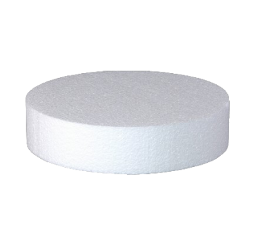 18 pcs SET of circular Cake Dummy - 10cm height