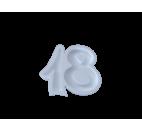 Portaconfetti in polistirolo numero 18