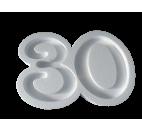 Portaconfetti in polistirolo numero 30