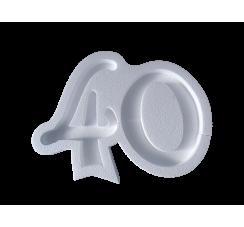 Portaconfetti in polistirolo numero 40