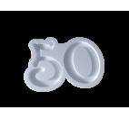Forma hueca Número 50 en poliestireno