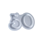 Portaconfetti in polistirolo numero 50