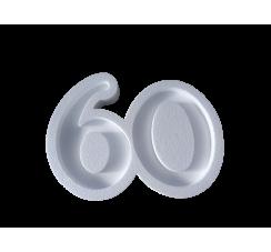 Portaconfetti in polistirolo numero 60