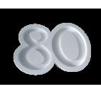 Portaconfetti in polistirolo numero 80