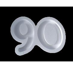 Portaconfetti in polistirolo numero 90