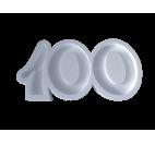 Forma hueca Número 100 en poliestireno