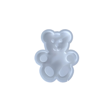 Bear form for sugared almonds buffet