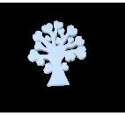 Polystyrene Life Tree