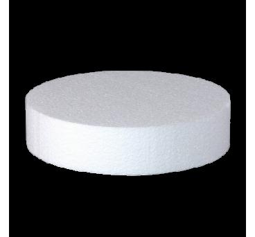 SET of 39 pcs of circular Cake Dummies -4 inches high