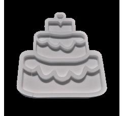 Portaconfetti in polistirolo torta