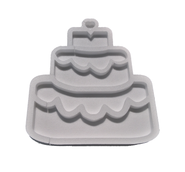 Forma hueca tarta en poliestireno