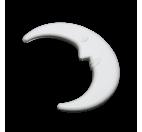 Polystyrene Moon