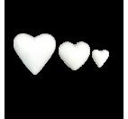 Corazón lleno en poliestireno