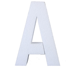 Lettere Oversize in polistirolo