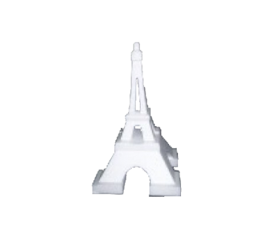 Polystyrene Eiffel Tower