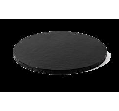 Sottotorta Circolare Nero da 1cm