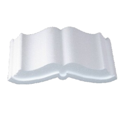 Styrofoam Open Book
