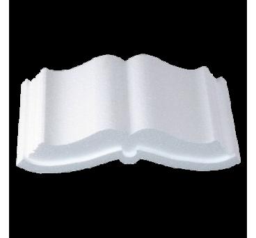 Polystyrene Open Book