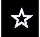 Estrella hueca en poliestireno
