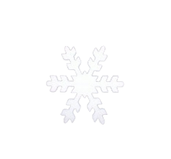 Styrofoam Snowflake