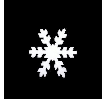 Copo de nieve en poliestireno