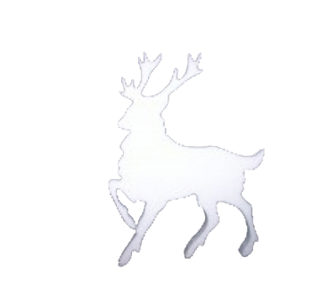 Reindeer in polystyrene in variety of sizes