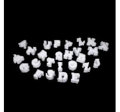 Alfabeto in polistirolo