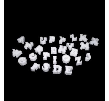 Polystyrene Alphabet