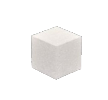 Cube dummy in variety of sizes