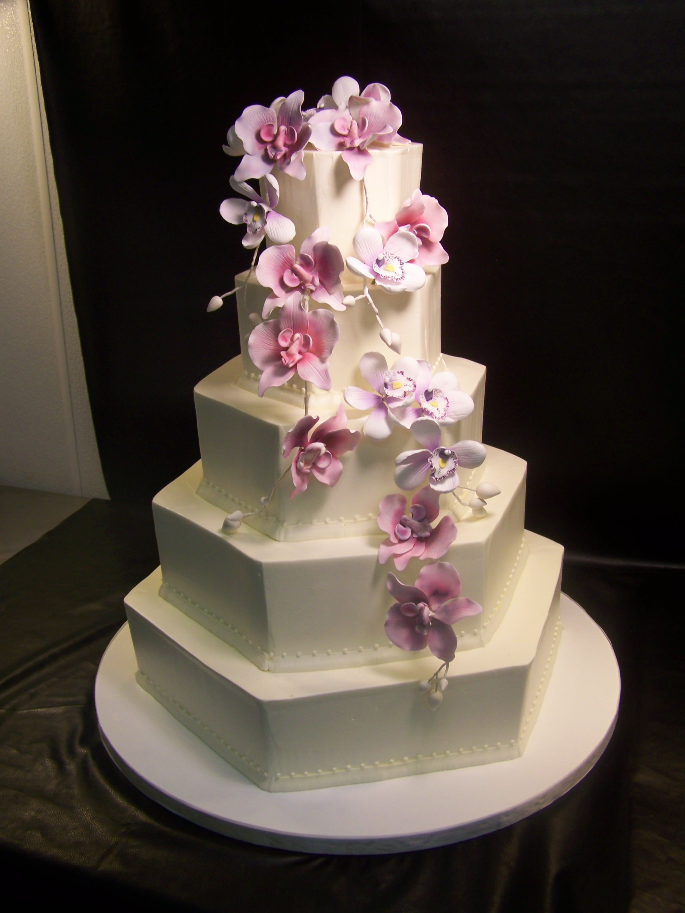 Hexagonal Cake Dummy in Polystyrene