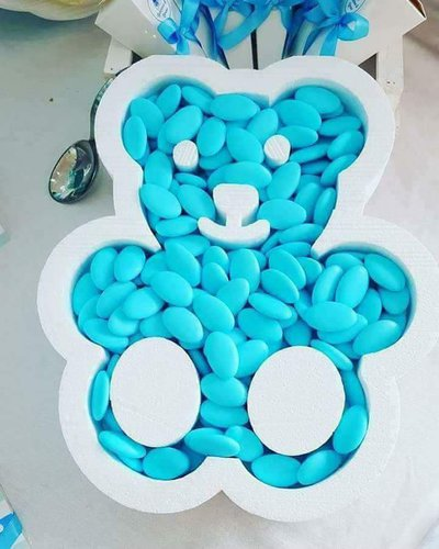 Bear box for sugared almonds